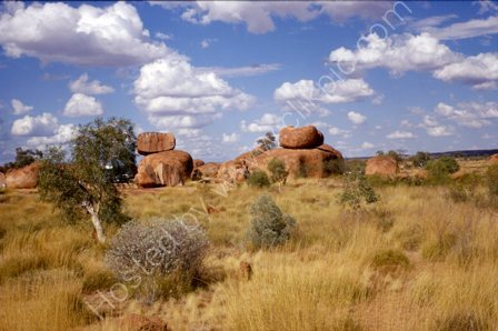 The Devils Marbles in Australia